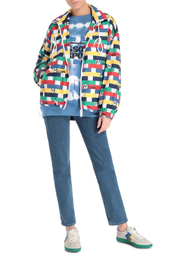 M MISSONI Windbreaker Woman, Frontal view