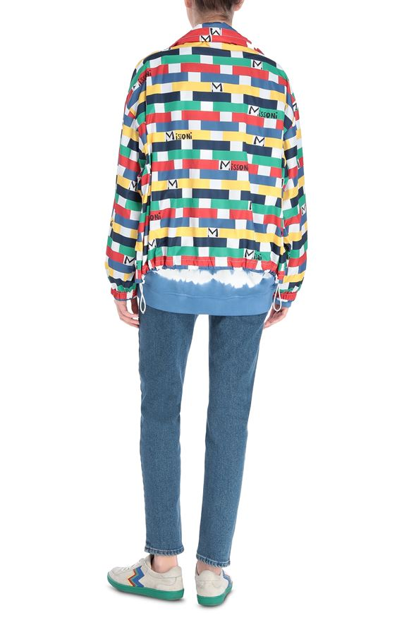 M MISSONI Windbreaker Woman, Side view