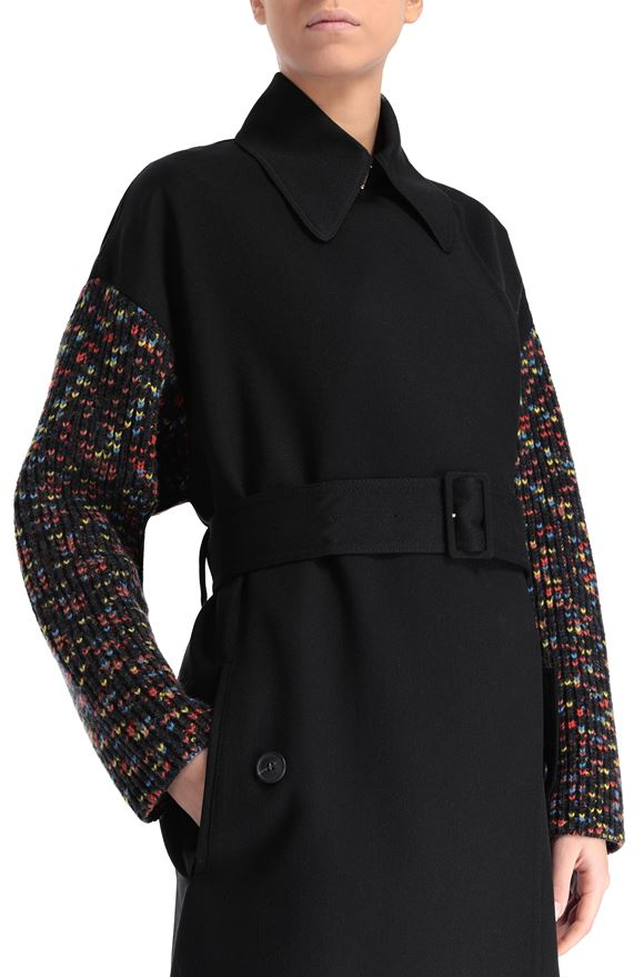 M MISSONI Trench coat Woman, Rear view