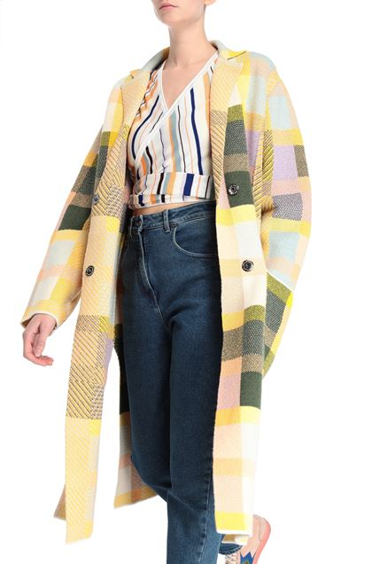 M MISSONI Coat Yellow Woman - Front