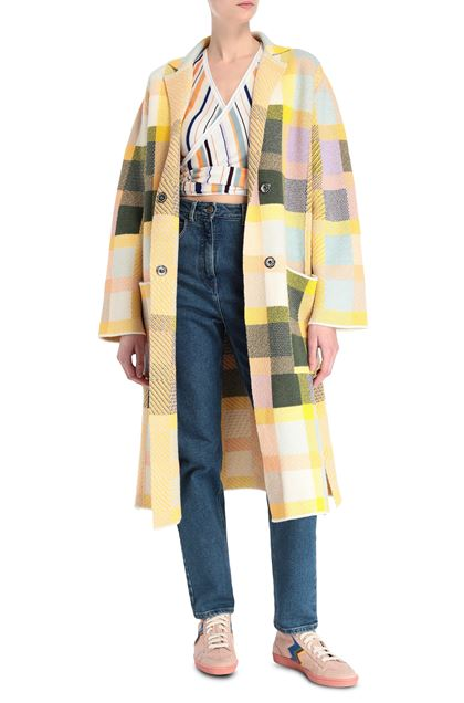 M MISSONI Coat Yellow Woman - Back