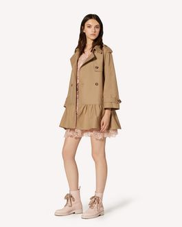 REDValentino Armuré Tech trench coat
