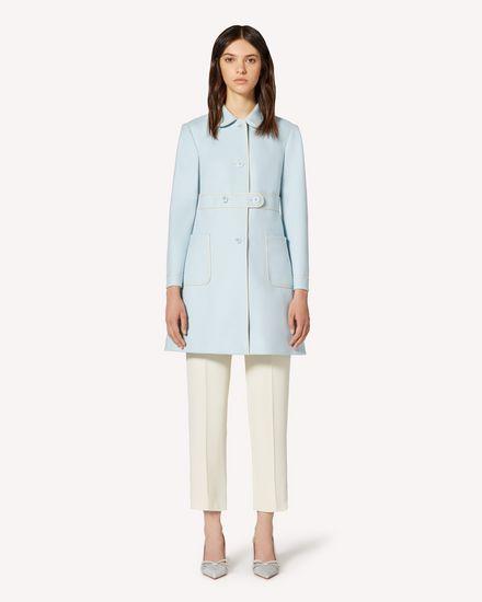 REDValentino Coat Woman TR3CAB800NA EL8 f