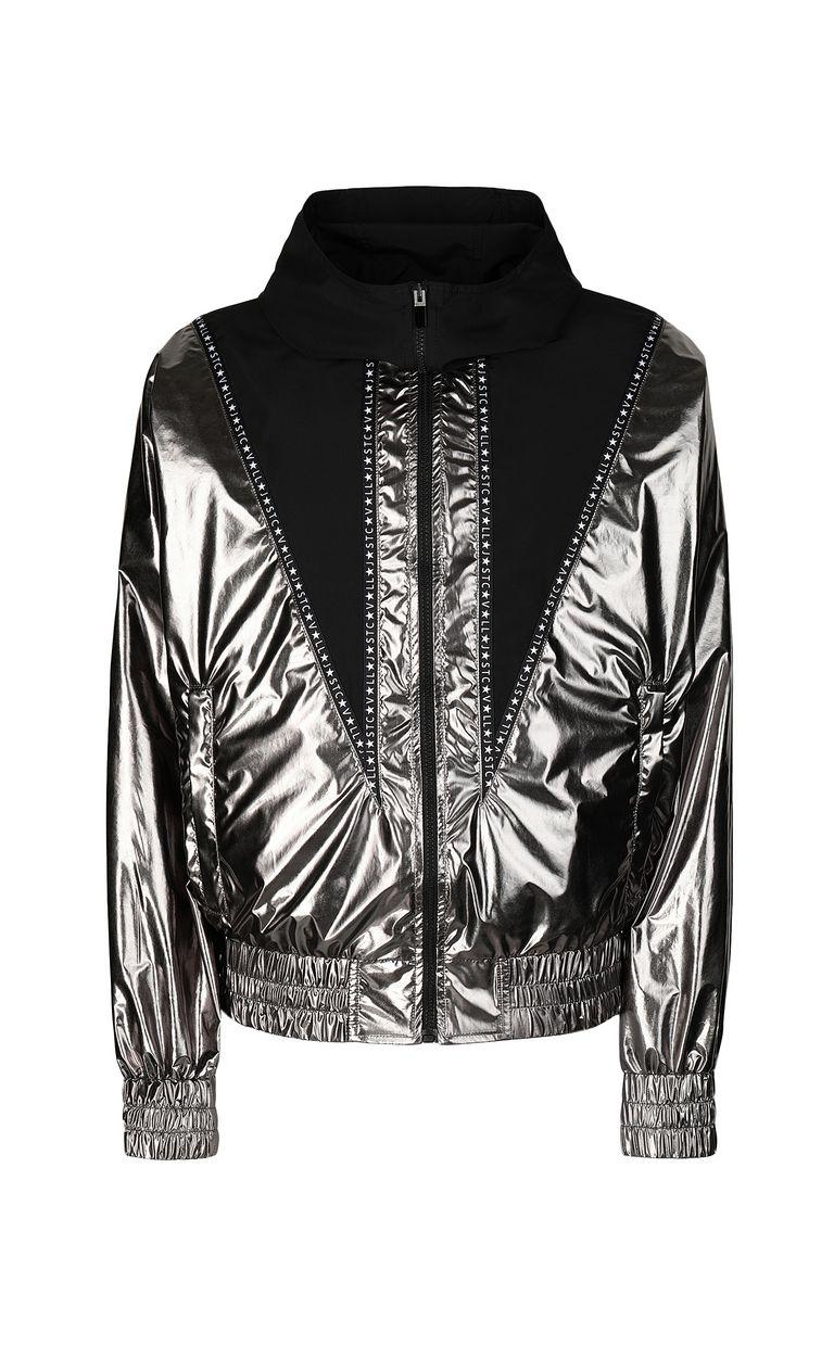 JUST CAVALLI Metallic-effect nylon jacket Jacket Man f