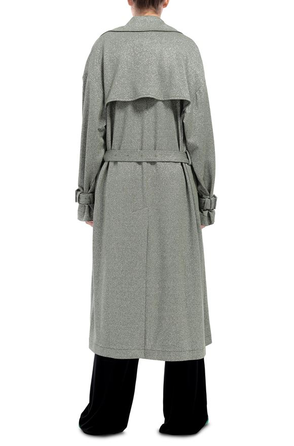 M MISSONI Trench coat Woman, Side view