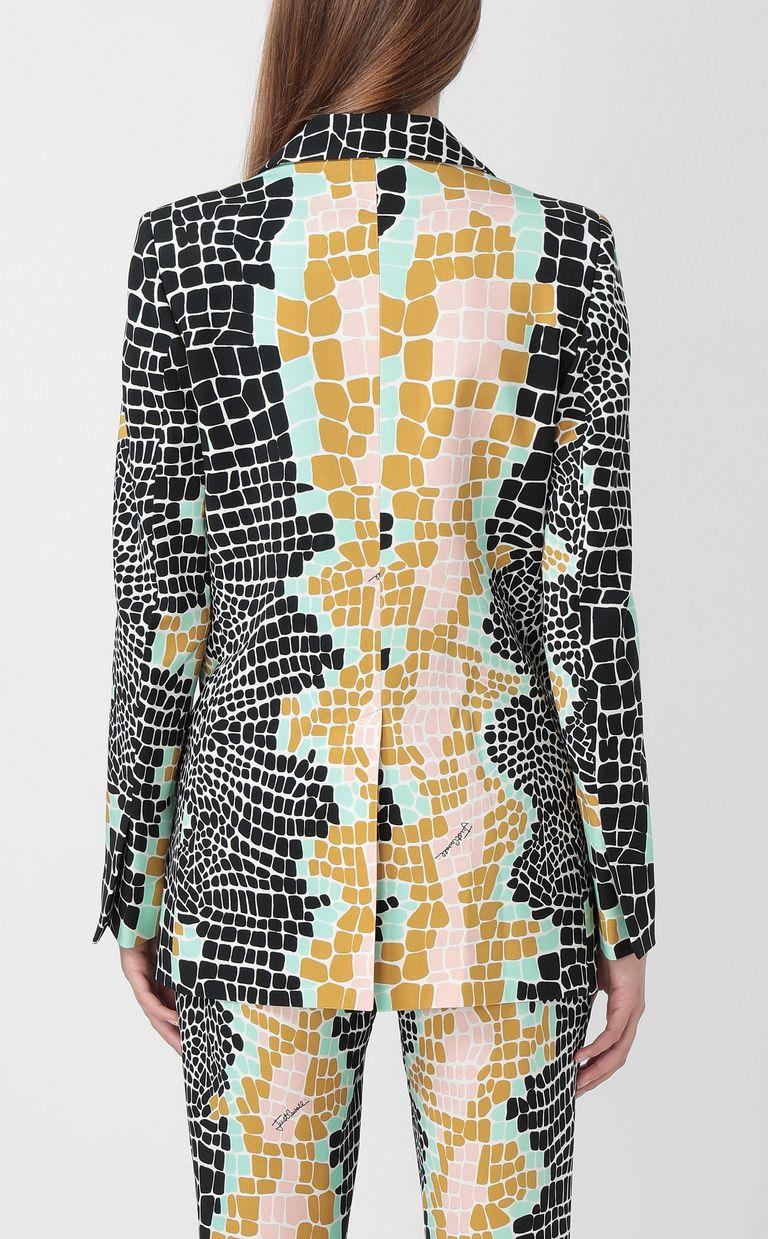 "JUST CAVALLI ""Pixel Crocco""-print jacket Blazer Woman a"