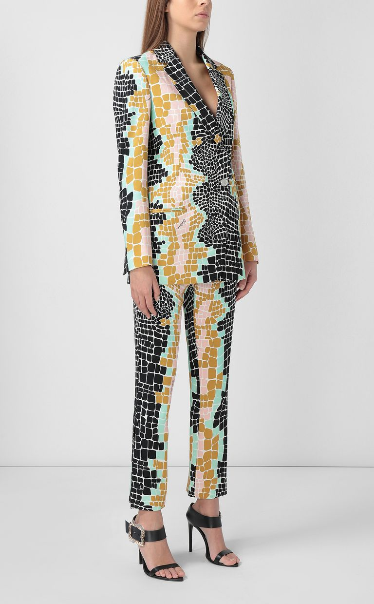 "JUST CAVALLI ""Pixel Crocco""-print jacket Blazer Woman d"