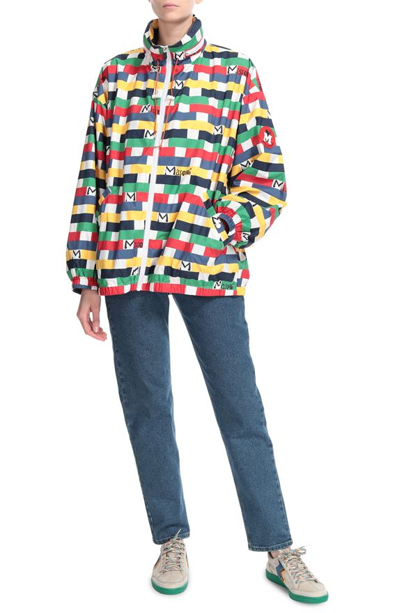 M MISSONI Jacket M x Save The Duck Woman, Frontal view
