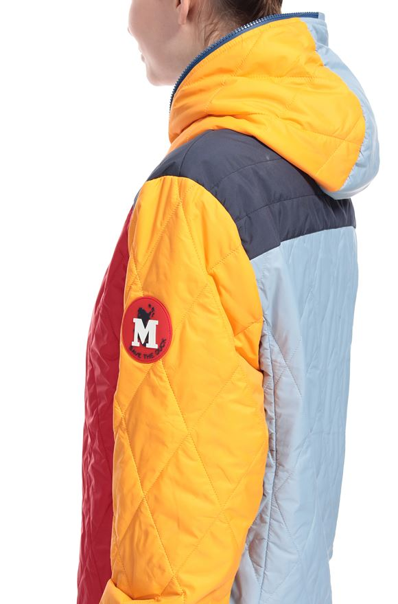 M MISSONI Down Jacket M x Save The Duck  Woman, Rear view