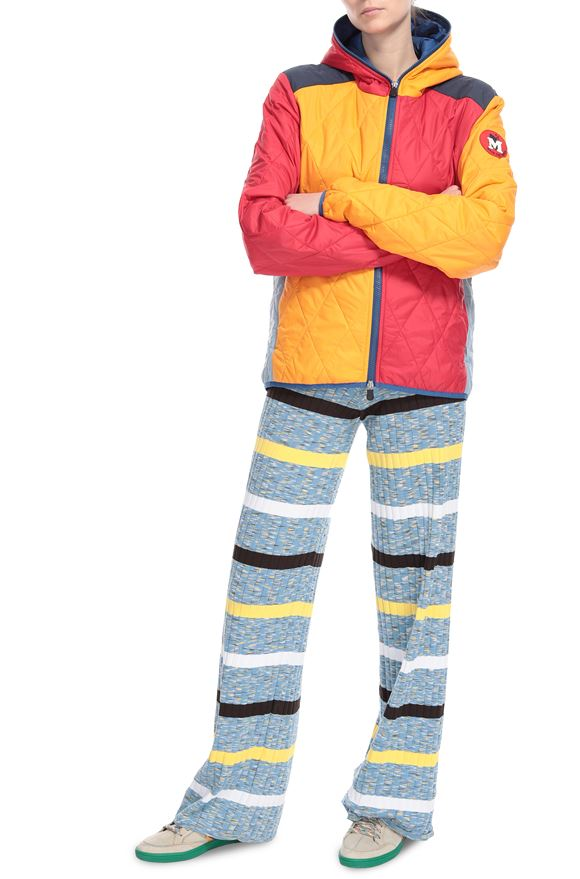 M MISSONI Down Jacket M x Save The Duck  Woman, Frontal view