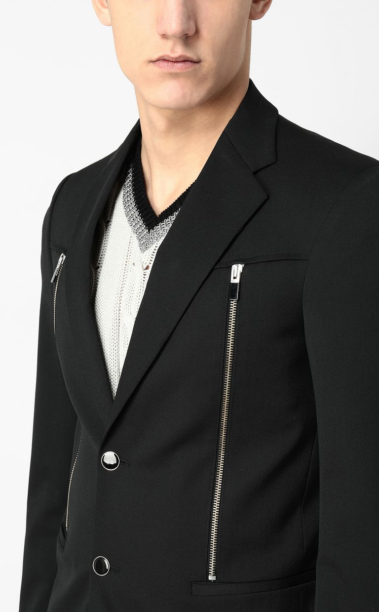 JUST CAVALLI Jacket with zips Blazer Man e