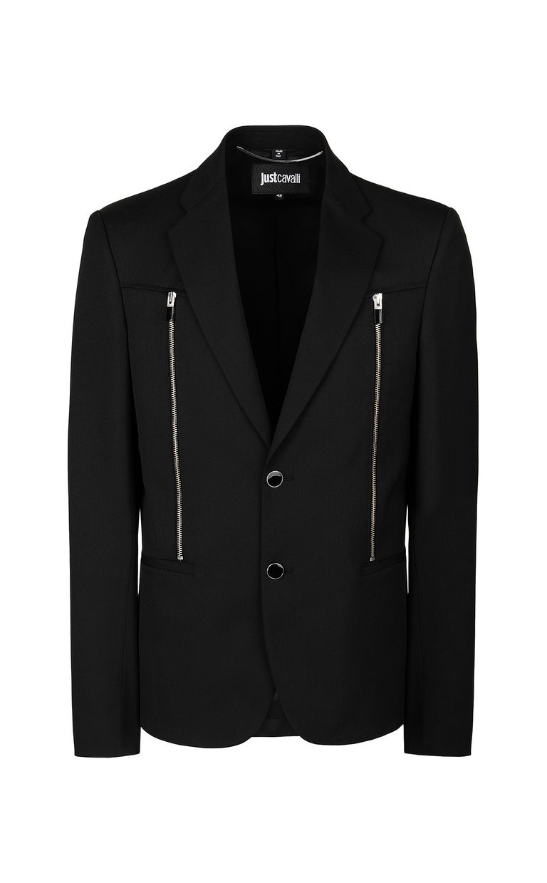 JUST CAVALLI Jacket with zips Blazer Man f