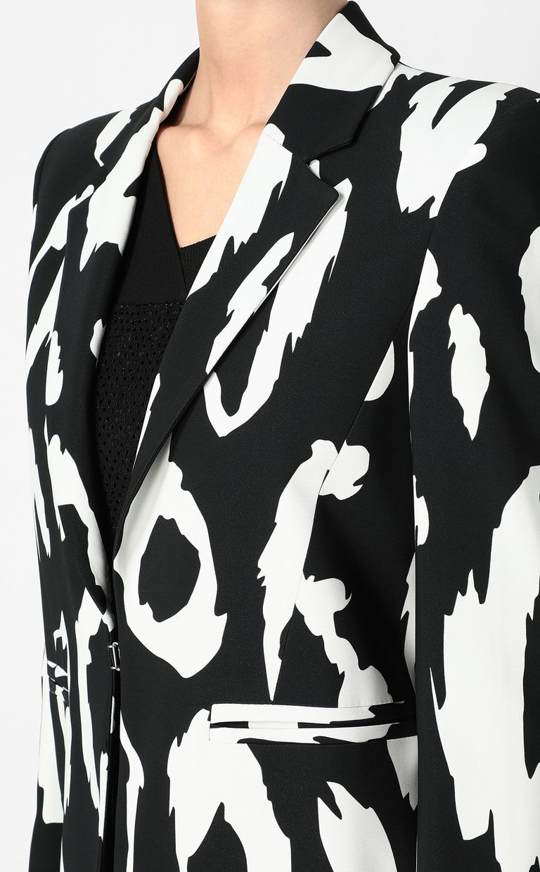 JUST CAVALLI Jacket with Macro-Leo print Blazer Woman e
