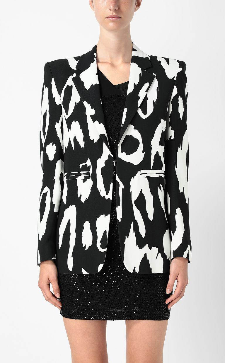 JUST CAVALLI Jacket with Macro-Leo print Blazer Woman r