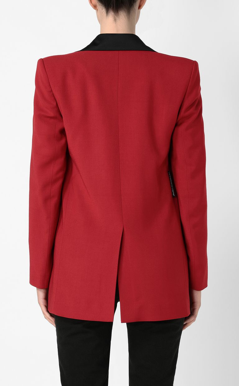 JUST CAVALLI Jacket with contrasting details Blazer Woman a