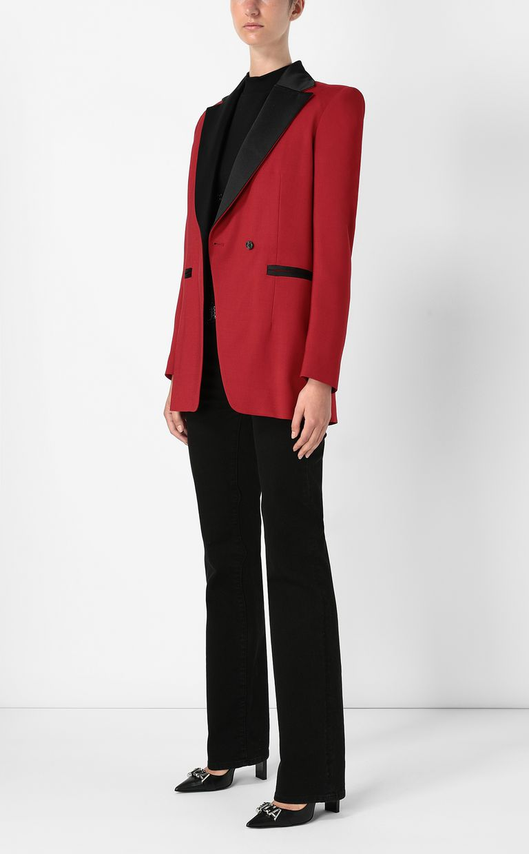 JUST CAVALLI Jacket with contrasting details Blazer Woman d