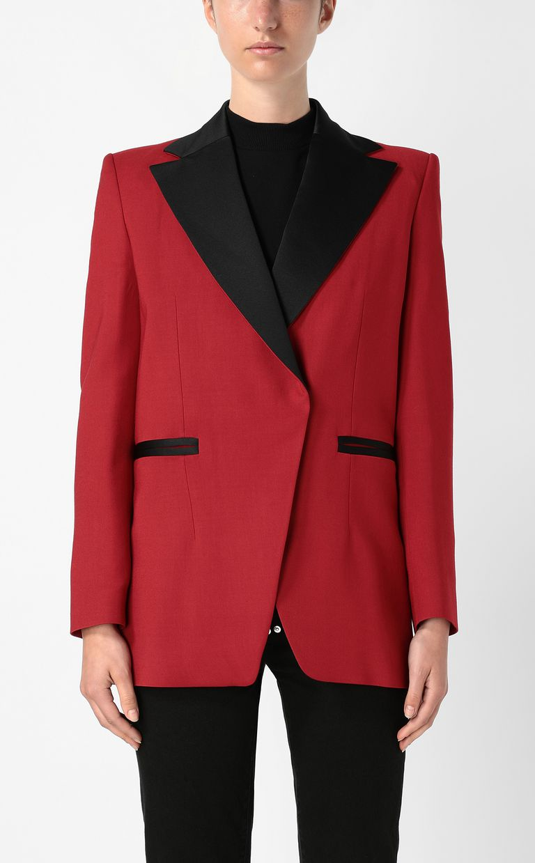 JUST CAVALLI Jacket with contrasting details Blazer Woman r