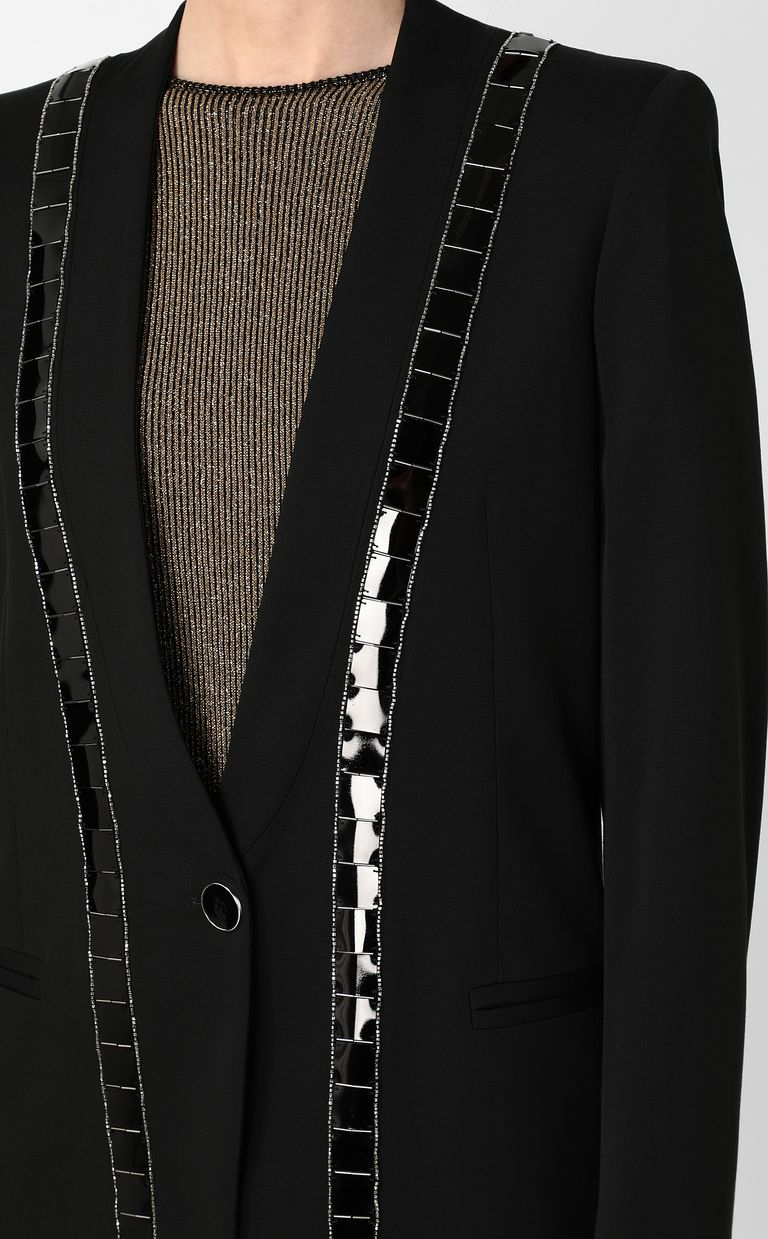JUST CAVALLI Jacket with metallic detailing Blazer Woman e