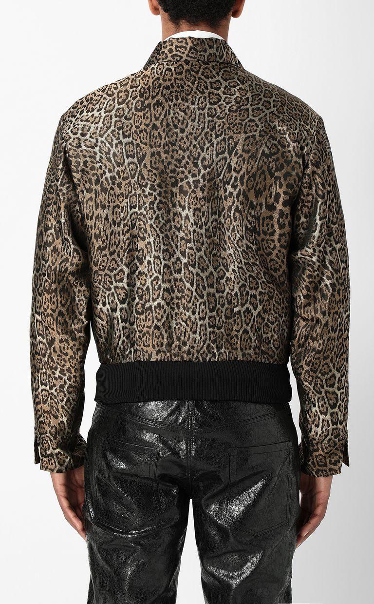 JUST CAVALLI Leopard-spot-print sporty jacket Jacket Man a