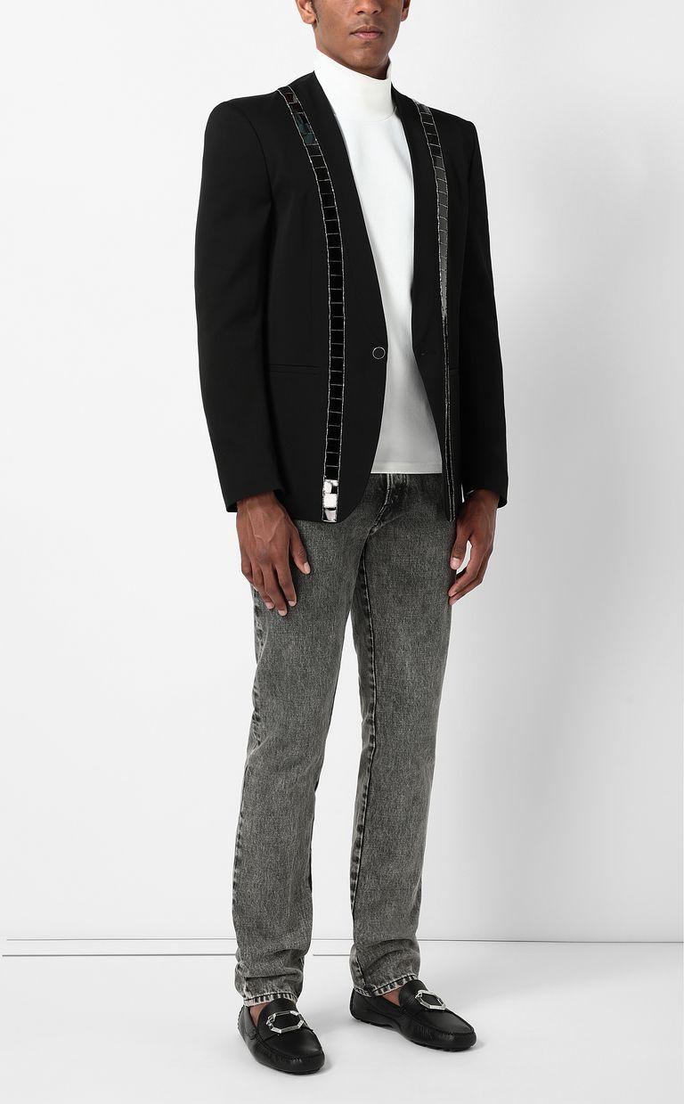 JUST CAVALLI Jacket with lurex inserts Blazer Man d