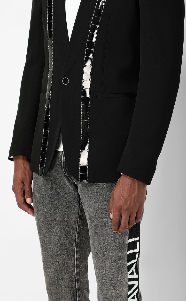 JUST CAVALLI Jacket with lurex inserts Blazer Man e