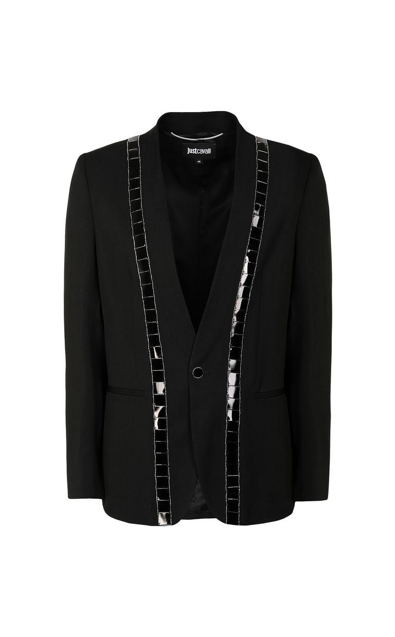 JUST CAVALLI Jacket with lurex inserts Blazer Man f