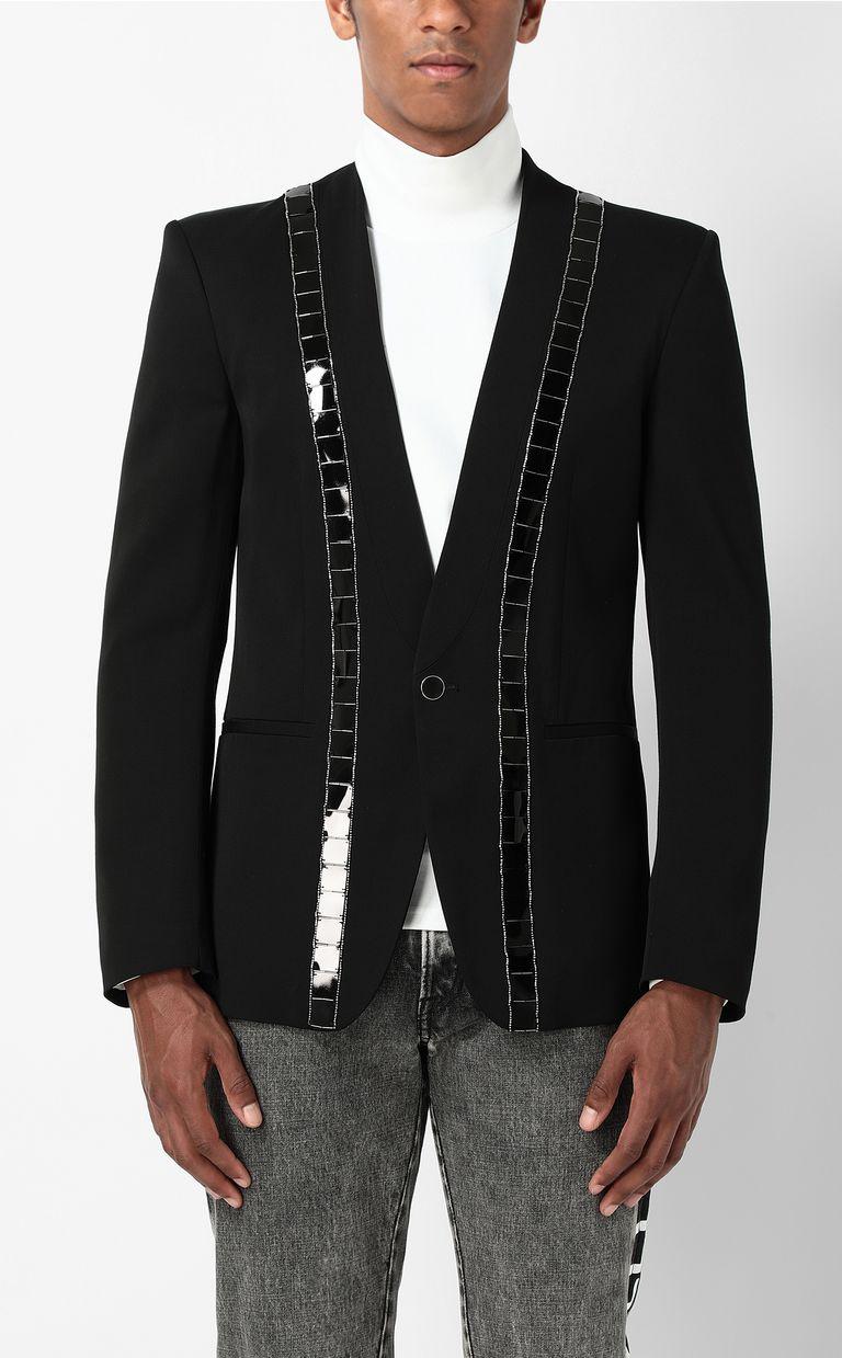 JUST CAVALLI Jacket with lurex inserts Blazer Man r