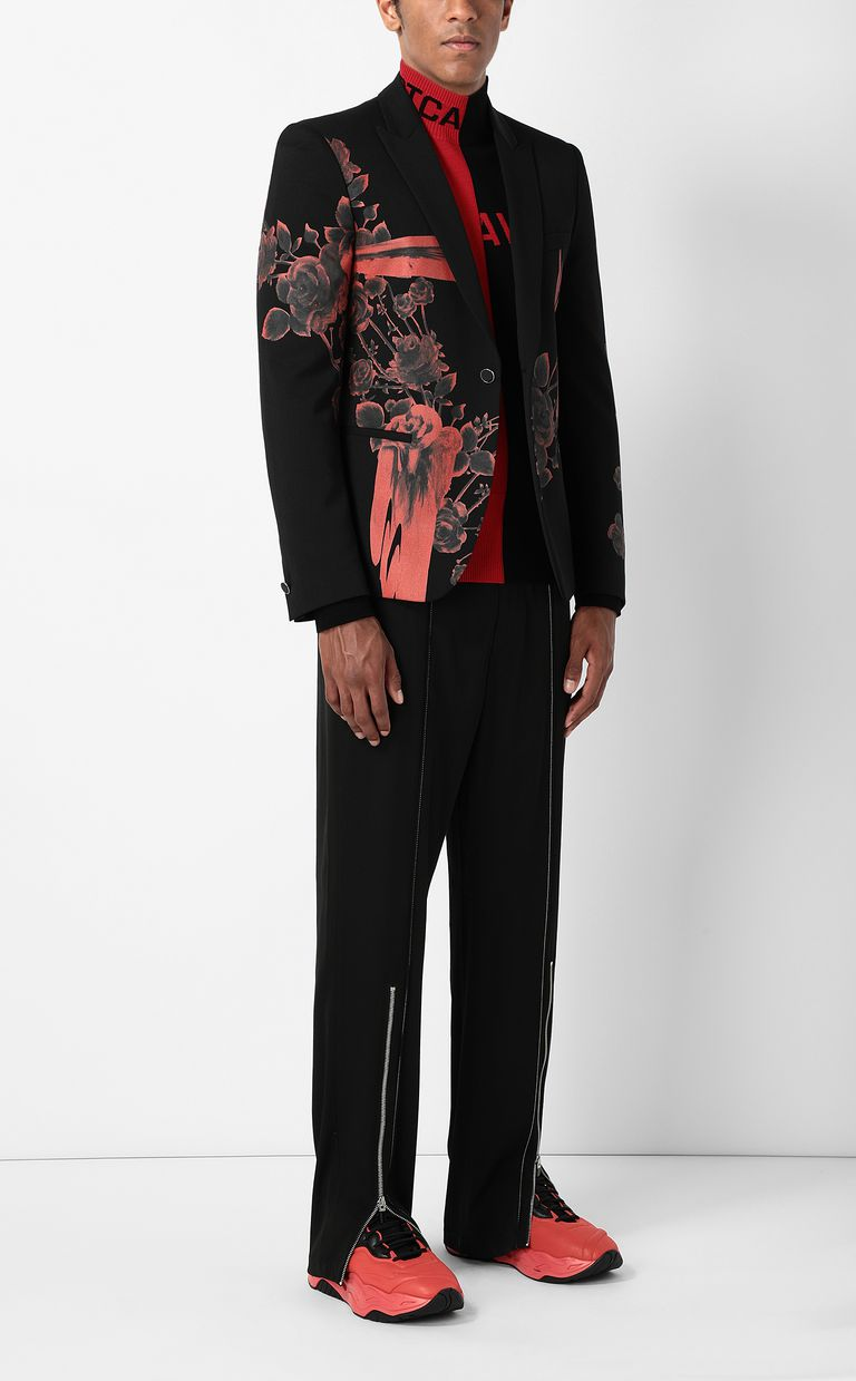 JUST CAVALLI Jacket with Moving Roses pattern Blazer Man d