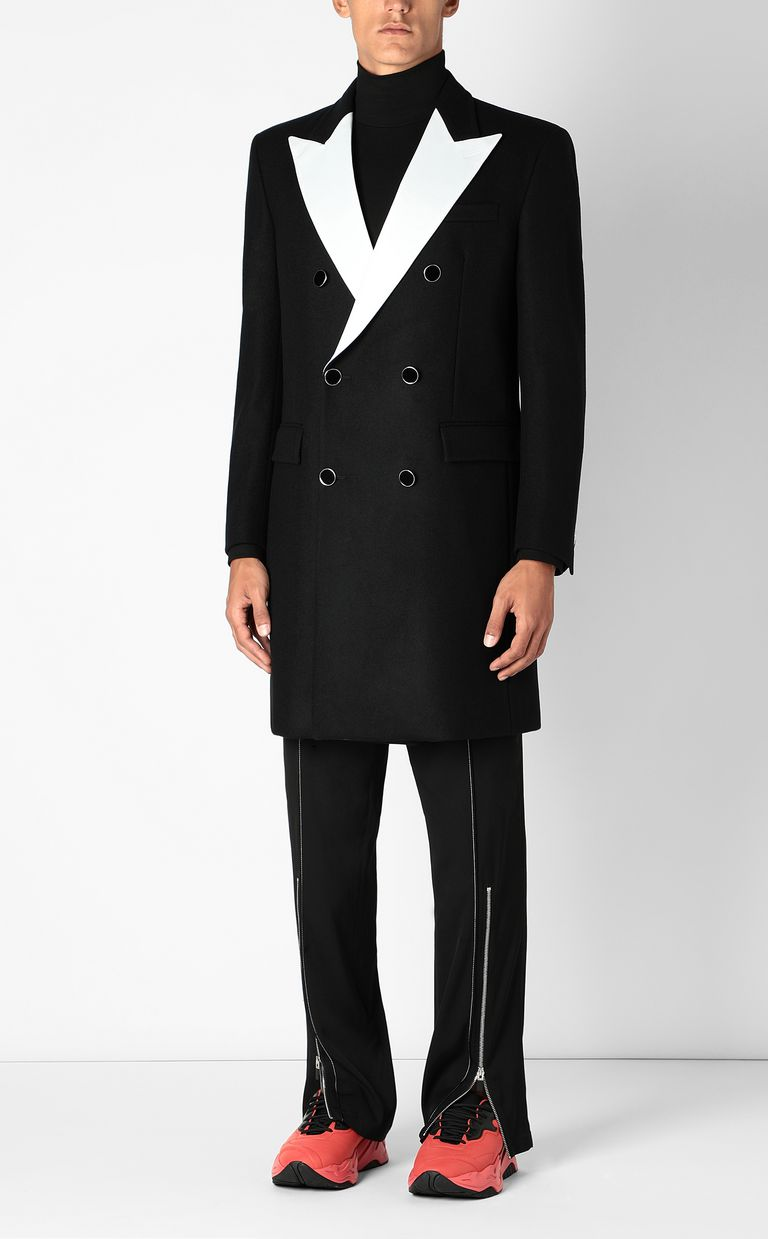 JUST CAVALLI Elegant coat Coat Man d