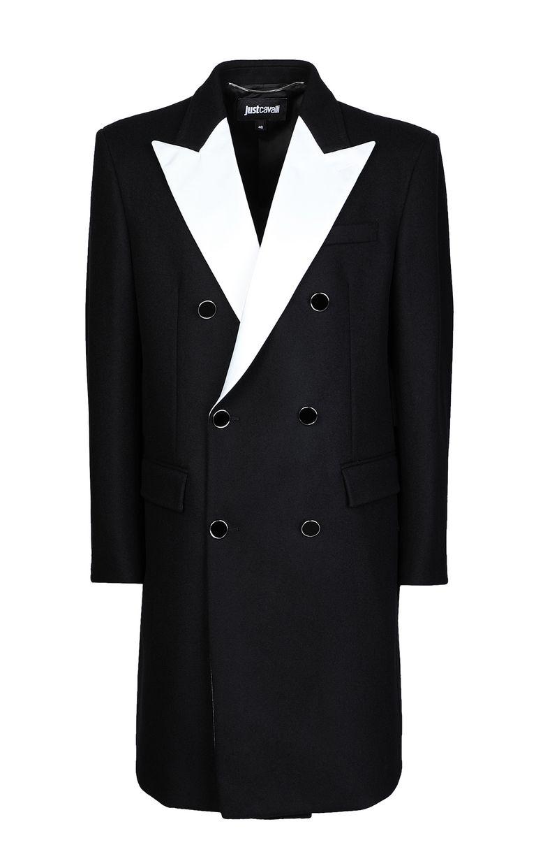 JUST CAVALLI Elegant coat Coat Man f