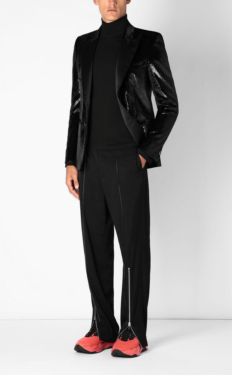 JUST CAVALLI Elegant velvety blazer Denim Jacket Man d