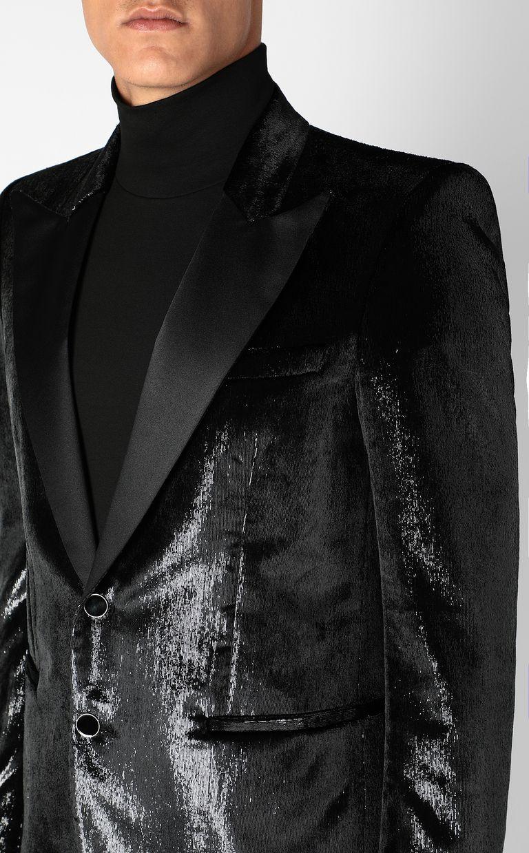 JUST CAVALLI Elegant velvety blazer Denim Jacket Man e