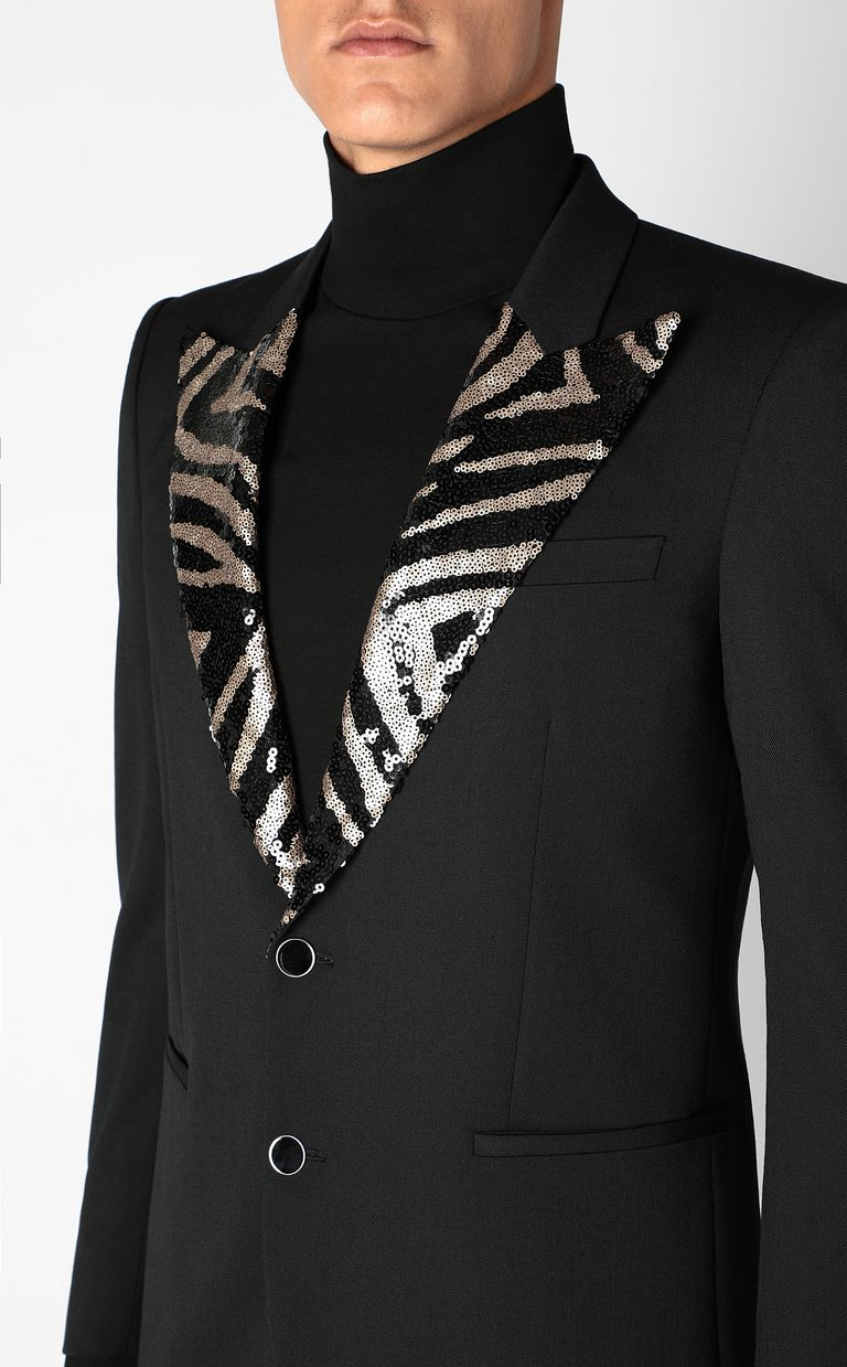 JUST CAVALLI Elegant jacket with sequins Blazer Man e
