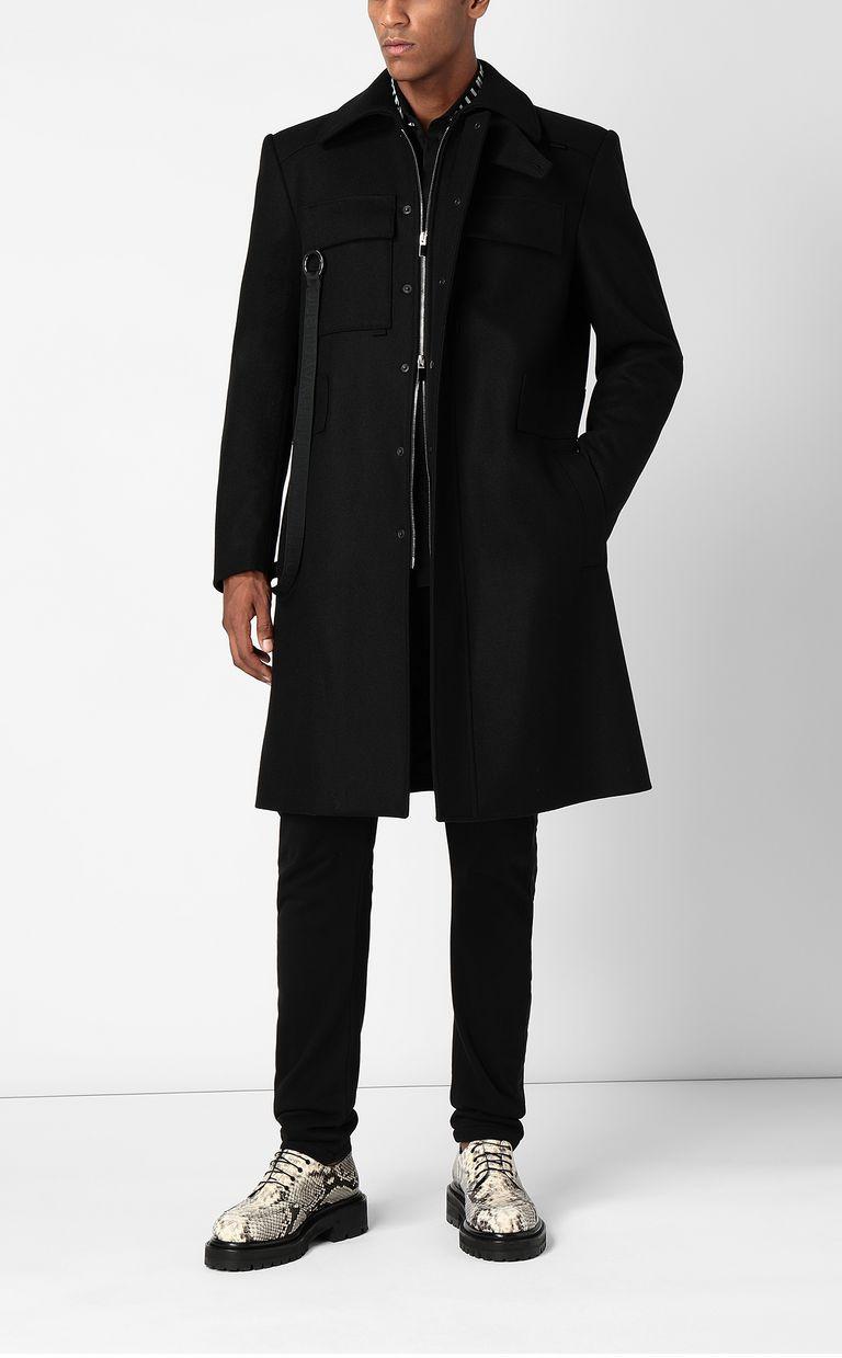 JUST CAVALLI Coat with chains Coat Man d