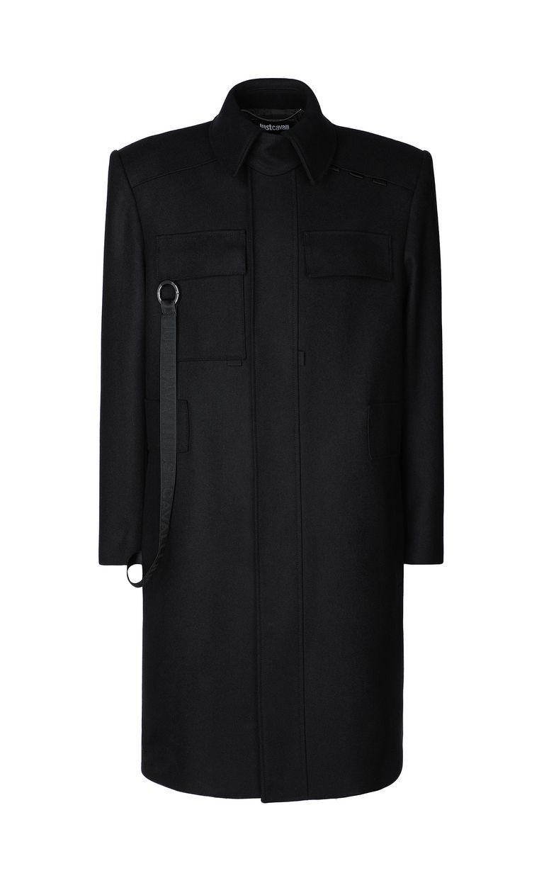 JUST CAVALLI Coat with chains Coat Man f