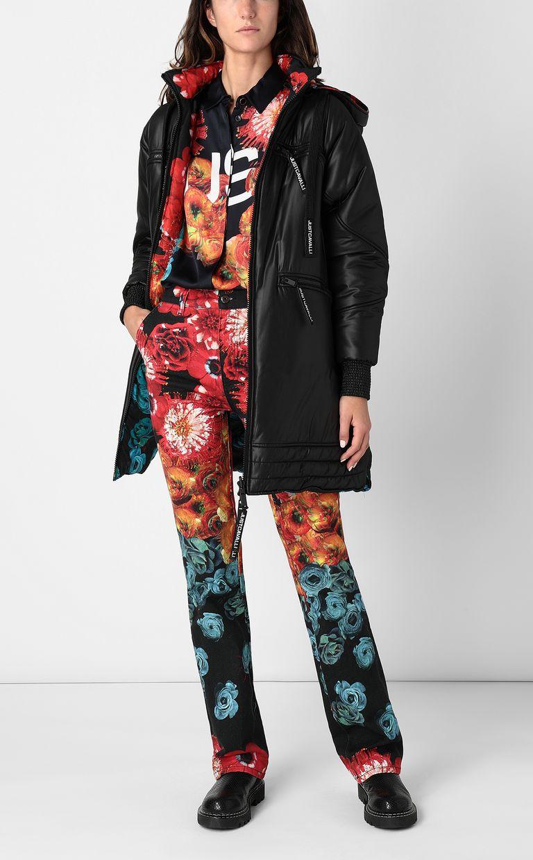JUST CAVALLI Reversible padded jacket Down jacket Woman d