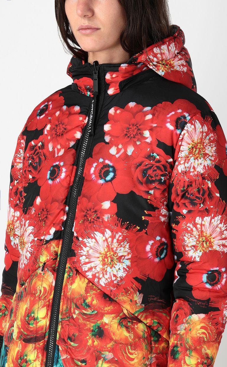 JUST CAVALLI Reversible padded jacket Down jacket Woman e