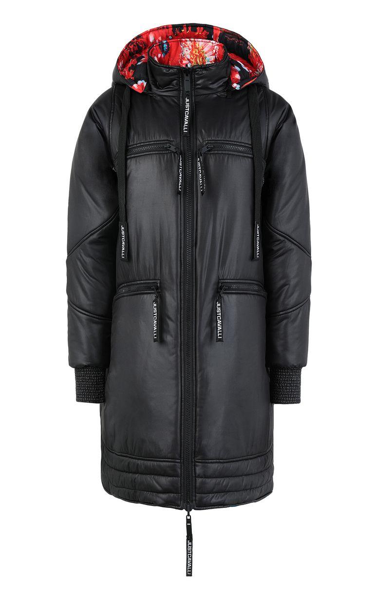 JUST CAVALLI Reversible padded jacket Down jacket Woman f