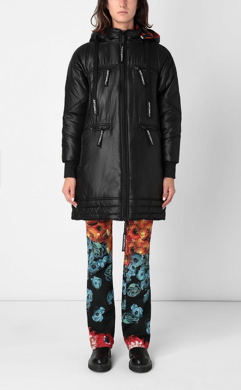 JUST CAVALLI Reversible padded jacket Down jacket Woman r