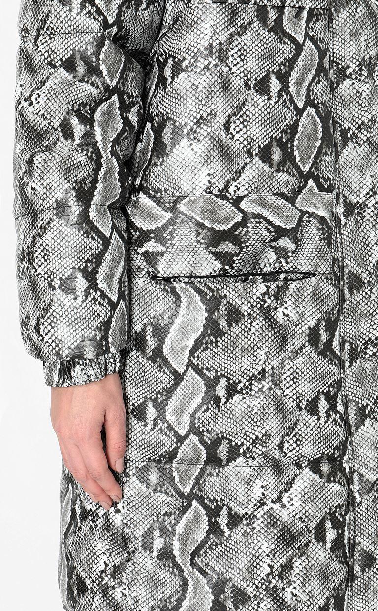 JUST CAVALLI Padded python-print jacket Down jacket Woman e