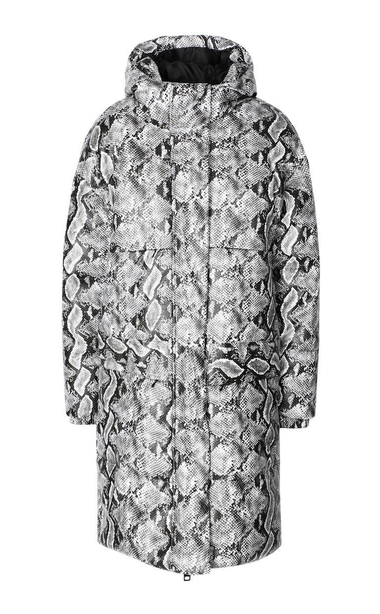 JUST CAVALLI Padded python-print jacket Down jacket Woman f