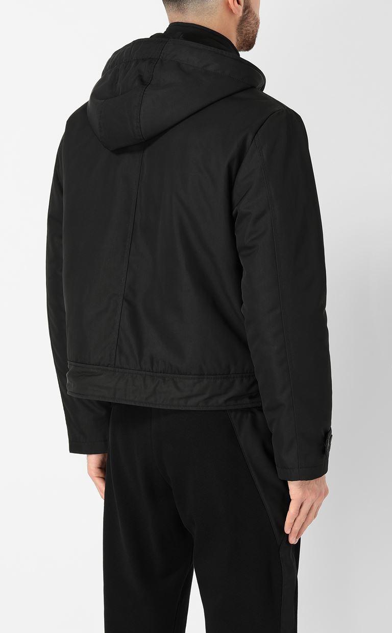 JUST CAVALLI Sporty jacket with hood Raincoat Man a