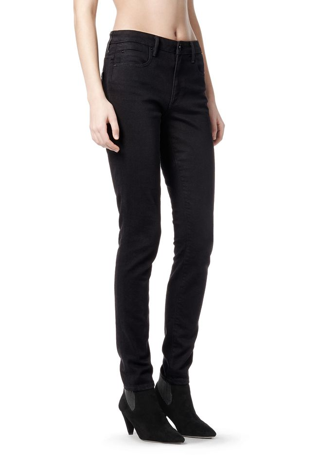 ALEXANDER WANG WANG 001 SLIM FIT DENIM Adult 12_n_e