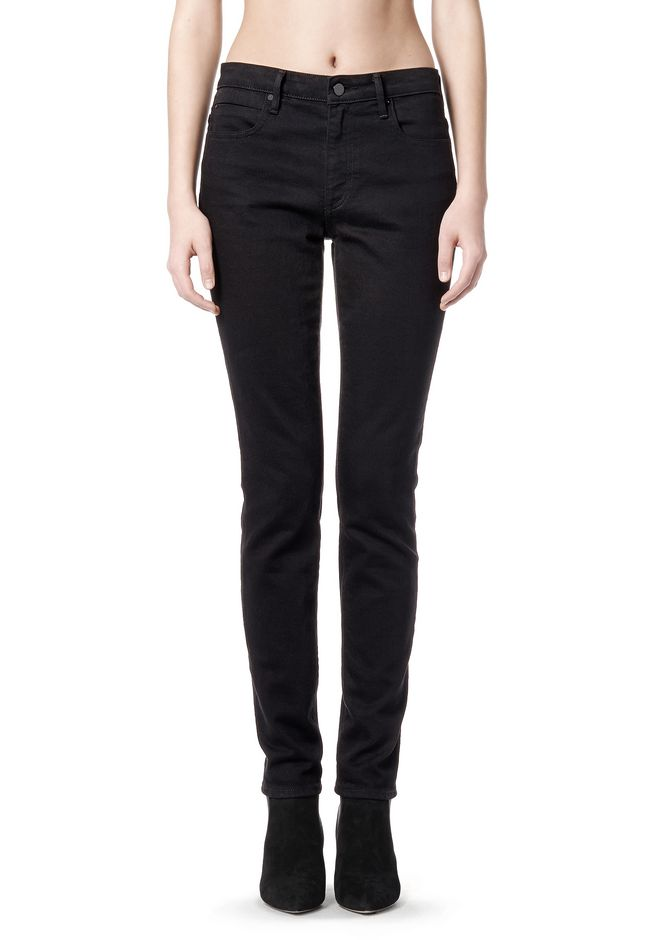 ALEXANDER WANG WANG 001 SLIM FIT DENIM Adult 12_n_r