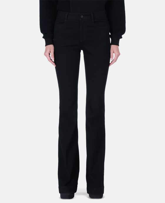 STELLA McCARTNEY Black 70's Flare Jeans Flared D h