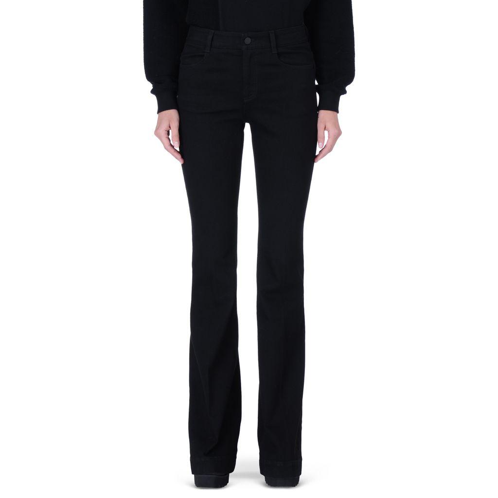 Black 70's Flare Jeans - STELLA MCCARTNEY