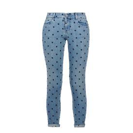 STELLA McCARTNEY Skinny Leg D Skinny Ankle Grazer Blue Star Jeans f