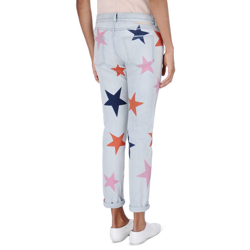 Skinny Boyfriend Star Jeans - STELLA MCCARTNEY