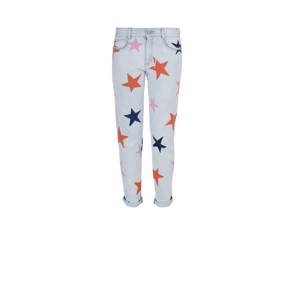 Skinny Boyfriend Star Jeans - STELLA MCCARTNEY
