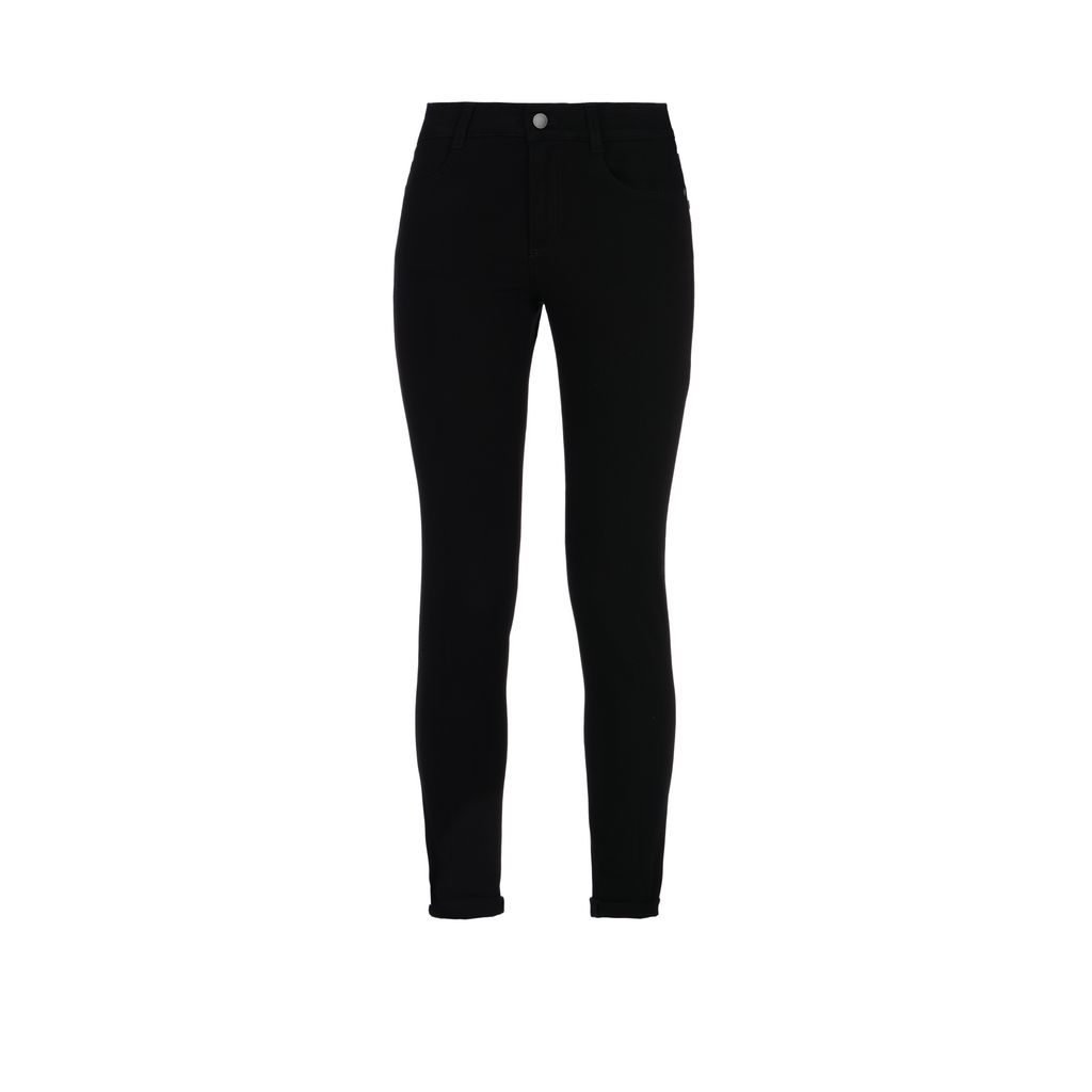 Black High Waisted Skinny Jeans - STELLA MCCARTNEY
